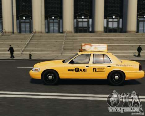 Ford Crown Victoria NYC Taxi 2012 für GTA 4 linke Ansicht