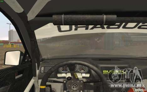 Subaru Impreza WRX Gymkhana2 Beta pour GTA San Andreas vue de droite