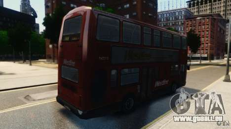 London City Bus für GTA 4 hinten links Ansicht