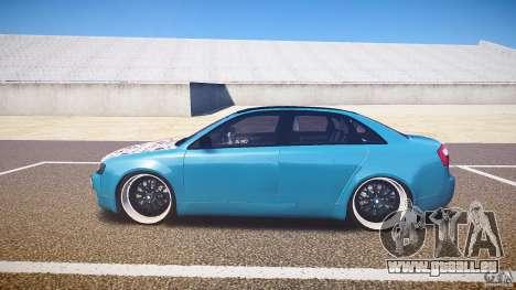 Audi S4 Custom pour GTA 4 est une gauche