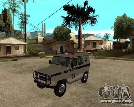 UAZ 31514 patrouiller pour GTA San Andreas