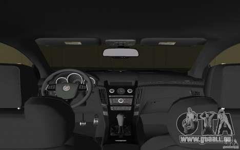 Cadillac CTS-V Coupe für GTA Vice City Seitenansicht