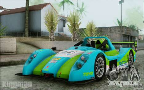 Radical SR3 RS 2009 für GTA San Andreas Seitenansicht