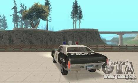 Chevrolet Monte Carlo 1970 Police für GTA San Andreas linke Ansicht