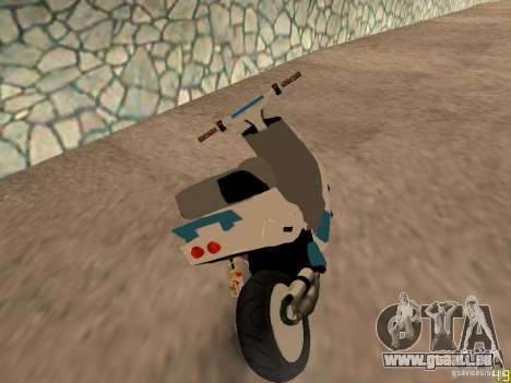 MBK Booster für GTA San Andreas linke Ansicht