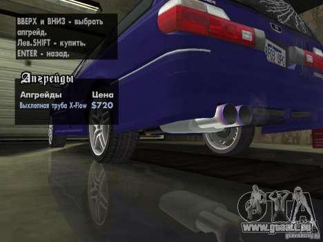 Nissan Stagea 25RS four S pour GTA San Andreas vue intérieure