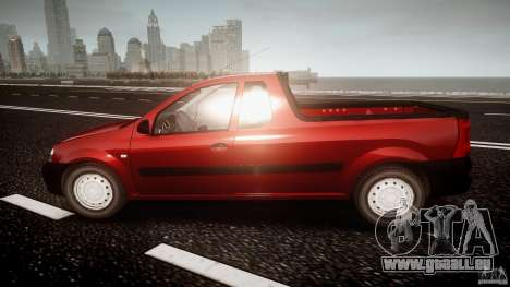 Dacia Logan Pick-up ELIA tuned für GTA 4 linke Ansicht