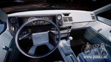 Toyota Sprinter Trueno 1986 für GTA 4 Rückansicht