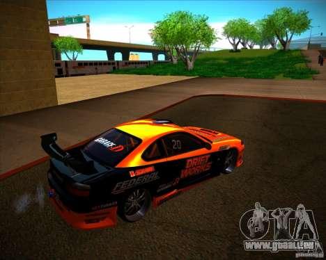 Nissan Silvia S15 Drift Works pour GTA San Andreas vue de droite