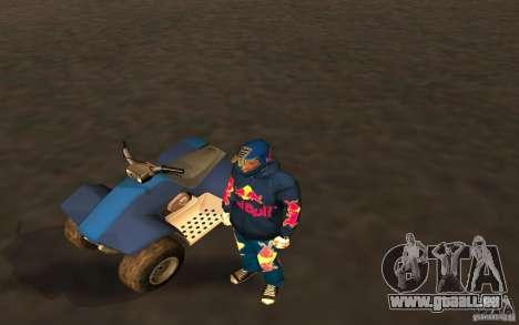 Red Bull Clothes v1.0 für GTA San Andreas zweiten Screenshot