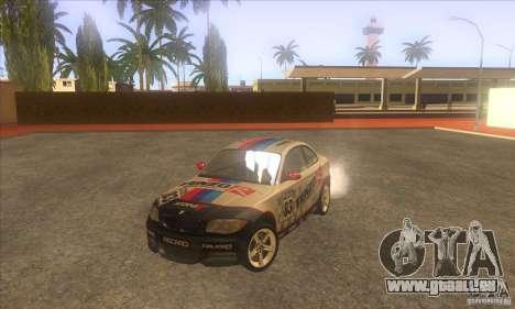 BMW 135i (E82) pour GTA San Andreas vue de côté