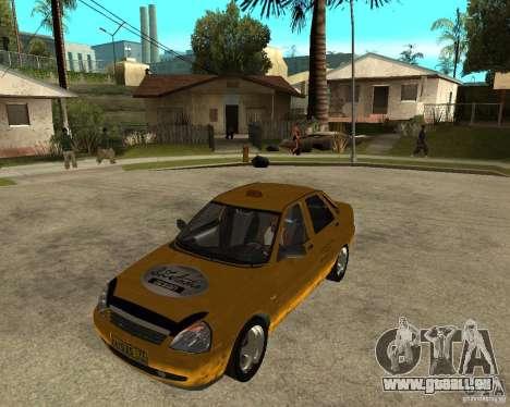 LADA 2170 « priora » Taxi pour GTA San Andreas