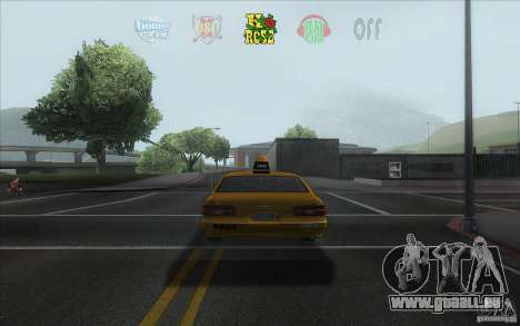 Radio Hud IV für GTA San Andreas