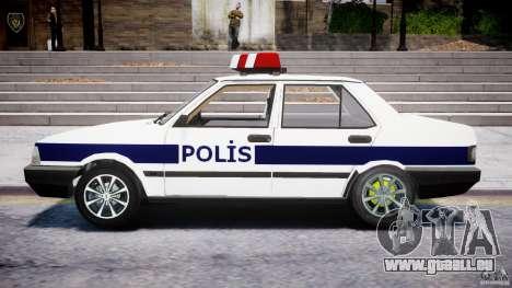 Tofas Sahin Turkish Police v1.0 pour GTA 4 est une gauche