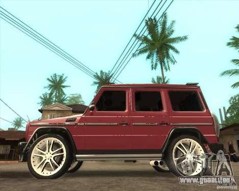 Mercedes-Benz G500 A_R_T für GTA San Andreas linke Ansicht