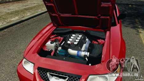 Saleen S281 2000 für GTA 4 Innenansicht