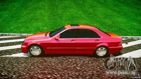 Mercedes-Benz S600 pour GTA 4 est une gauche
