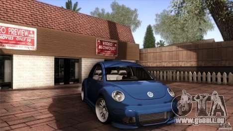Volkswagen Beetle RSi Tuned für GTA San Andreas linke Ansicht