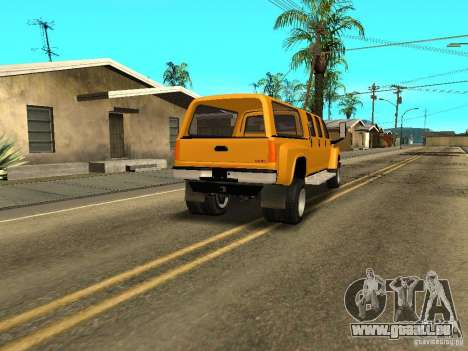 GMC TopKick pour GTA San Andreas vue de droite