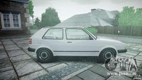 Volkswagen GOLF MK2 GTI pour GTA 4 est une gauche