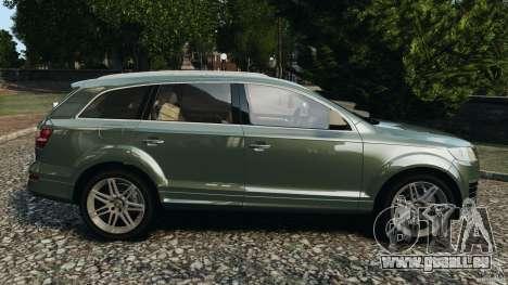 Audi Q7 V12 TDI v1.1 pour GTA 4 est une gauche