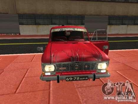 Moskvich 434 für GTA San Andreas Innenansicht