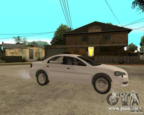 GAZ Volga Siber AT 2,5 pour GTA San Andreas vue de droite