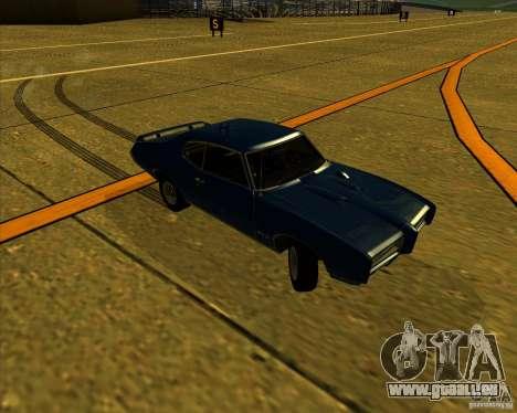 Pontiac GTO 1969 pour GTA San Andreas vue de côté