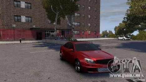 Mercedes-Benz C-Class Brabus pour GTA 4 Vue arrière de la gauche