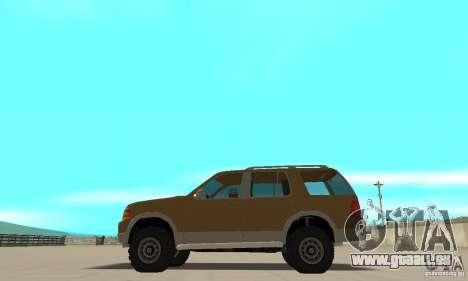 Ford Explorer 2002 für GTA San Andreas linke Ansicht