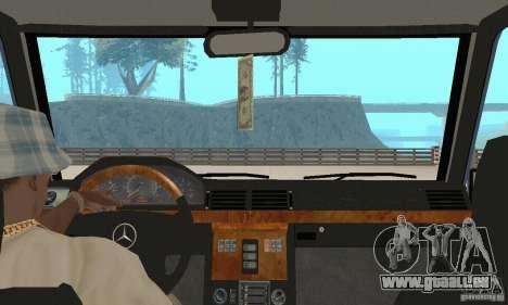 Mercedes-Benz G500 1999 V 1.1 keine Kengurâtnika für GTA San Andreas Innenansicht