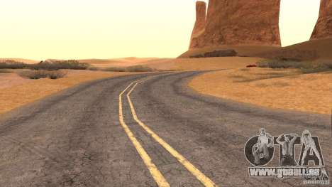 New HQ Roads für GTA San Andreas neunten Screenshot