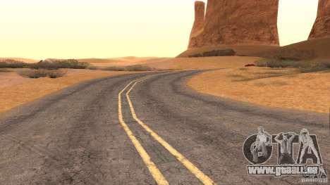 New HQ Roads pour GTA San Andreas neuvième écran
