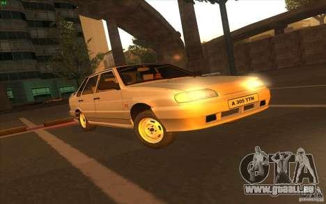 VAZ 2115 Lager v1. 0 für GTA San Andreas