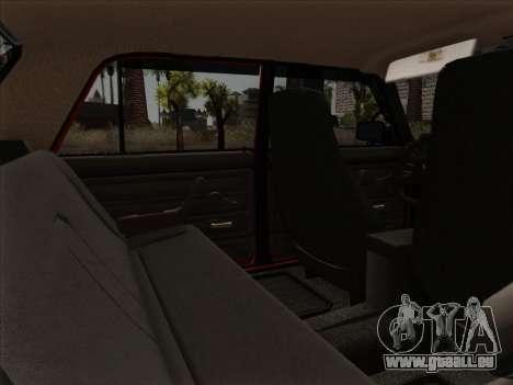 VAZ 21054 pour GTA San Andreas salon