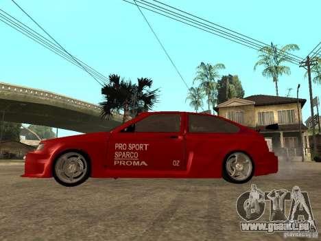 VAZ-2112 diable rouge pour GTA San Andreas laissé vue