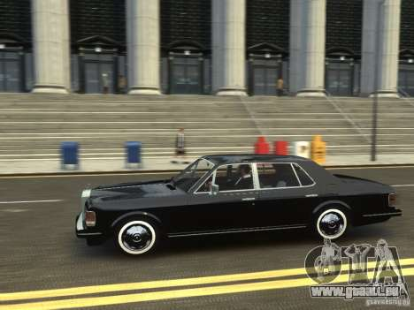 Rolls-Royce Silver Spirit 1990 pour GTA 4 Vue arrière