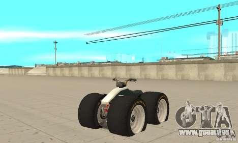 QUAD BIKE Custom Version 1 pour GTA San Andreas