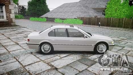 BMW 740i (E38) style 32 pour GTA 4 est une gauche