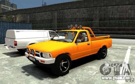 Toyota Hilux 1989-1993 Single cab v1 pour GTA 4