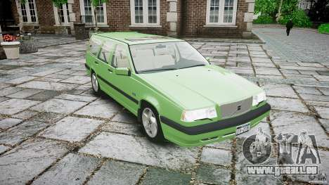 Volvo 850 Turbo 1996 für GTA 4 Innenansicht