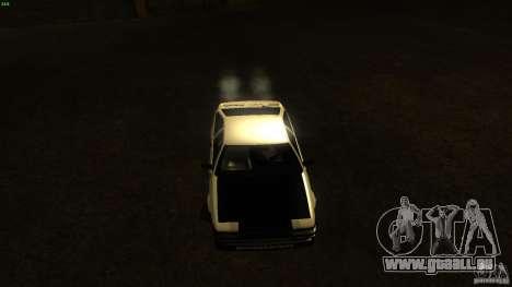 Toyota AE86 Trueno Touge Drift pour GTA San Andreas vue arrière