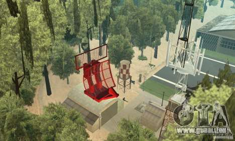Base of CJ mod pour GTA San Andreas deuxième écran
