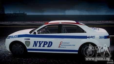 Carbon Motors E7 Concept Interceptor NYPD [ELS] für GTA 4 Räder