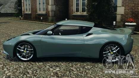 Lotus Evora 2009 v1.0 für GTA 4 linke Ansicht