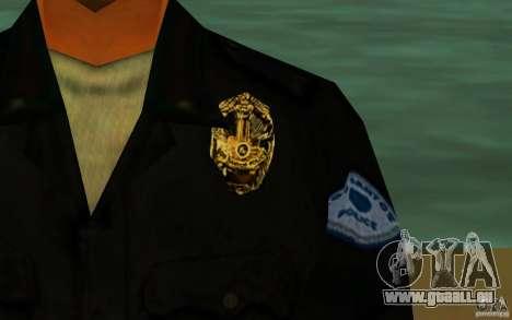 HQ skin lapd1 pour GTA San Andreas quatrième écran