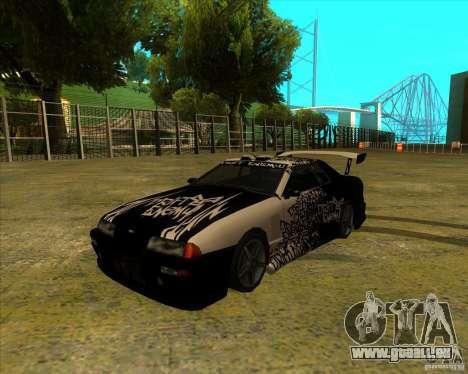 Elegie mit den neuen Spoilern für GTA San Andreas linke Ansicht