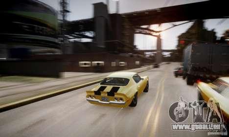 Chevrolet Camaro Z28 pour le moteur de GTA 4