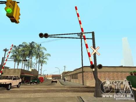 PASSAGE à niveau RUS pour GTA San Andreas deuxième écran