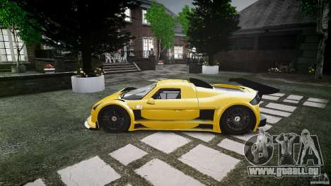 Gumpert Apollo Sport v1 2010 pour GTA 4 Vue arrière de la gauche